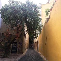 rue alfama jaune