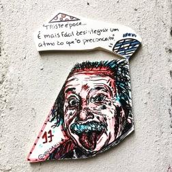 street art einstein